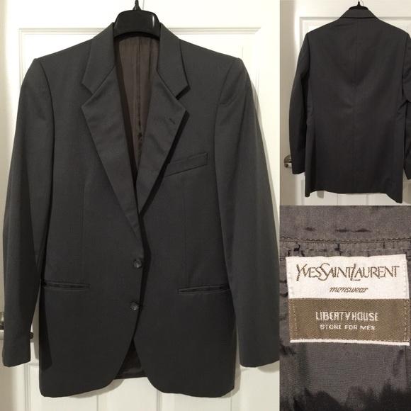 2a669d1354891 Men's YSL Suit Jacket/Coat. Vintage. M_5b571d60bf77290b9683afb0. Other Suits  & Blazers ...